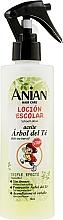 Perfumería y cosmética Loción desenredante con aceite de árbol de té, extracto de camomila & aloe vera - Anian School Lotion With Tea Tree Oil