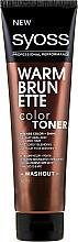 Perfumería y cosmética Acondicionador tonificante para color y brillo intensos - Syoss Color Toner