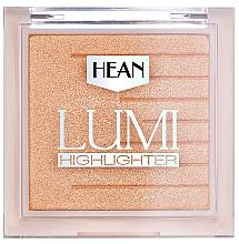 Perfumería y cosmética Iluminador para rostro y cuerpo con extracto de cacao - Hean Lumi Highlighter