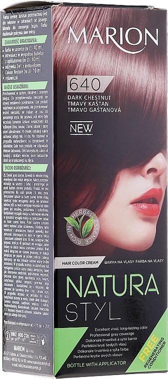 Tinte permanente para cabello - Marion Hair Dye Nature Style