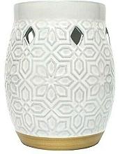 Perfumería y cosmética Lámpara aromática - Yankee Candle Wax Burner Addison Patterned Ceramic
