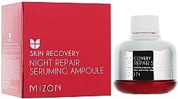 Perfumería y cosmética Sérum facial de noche reparador con extracto de lavanda - Mizon Night Repair Seruming Ampoule