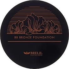 Perfumería y cosmética BB Base de maquillaje bronceadora en polvo compacto - Brelil Professional BB Bronze Foundation
