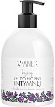 Perfumería y cosmética Gel para higiene íntima con extracto de hoja de arándano - Vianek Intimate Gel