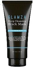 Perfumería y cosmética Mascarilla de limpieza facial peel-off con extracto de plantas - Glamza Deep Cleaning Black Face Mask