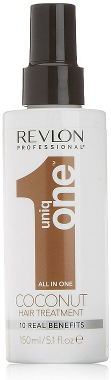 Tratamiento capilar con aroma a coco, sin aclarado - Revlon Professional Uniq One Coconut Hair Treatment