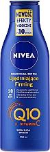 Perfumería y cosmética Leche corporal reafirmante con coenzima Q10 y vitamina C - Nivea Q10 + Vitamin C Body Lotion