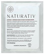 Perfumería y cosmética Mascarilla peel-off a base de polvo de arroz - Naturativ Face Mask