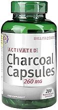 Perfumería y cosmética Complemento alimenticio en cápsulas de carbón activo, 260 mg - Holland & Barrett Activated Charcoal Capsules 260mg