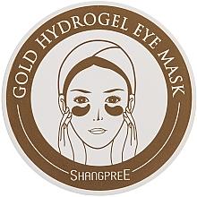 Perfumería y cosmética Parches para contorno de ojos de hidrogel con oro - Shangpree Gold Hydrogel Eye Mask