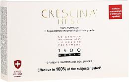 Perfumería y cosmética Tratamiento anticaída del cabello con ingredientes activos, 1300 - Labo Crescina Re-Growth Anti-Hair Loss Complete Treatment 1300 Woman