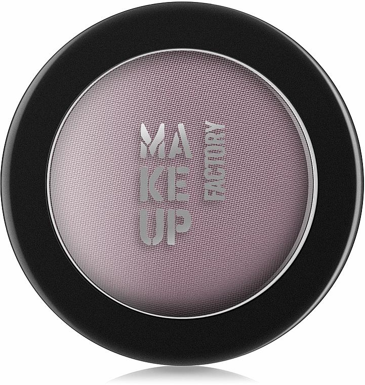 Sombras de ojos perlados con efecto mate - Make Up Factory Mat Eye Shadow Mono — imagen N2