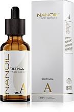 Perfumería y cosmética Sérum facial revitalizante con retinol - Nanoil Face Serum Retinol