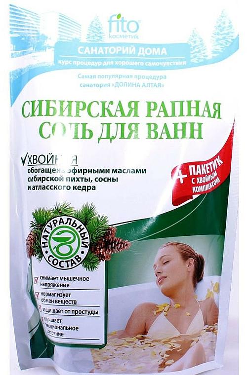 """Sales de baño """"sal de Siberia y enebro"""" - Fito Cosmetic"""
