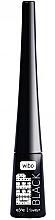 Perfumería y cosmética Delineador de ojos - Wibo Eye Liner Deep Black