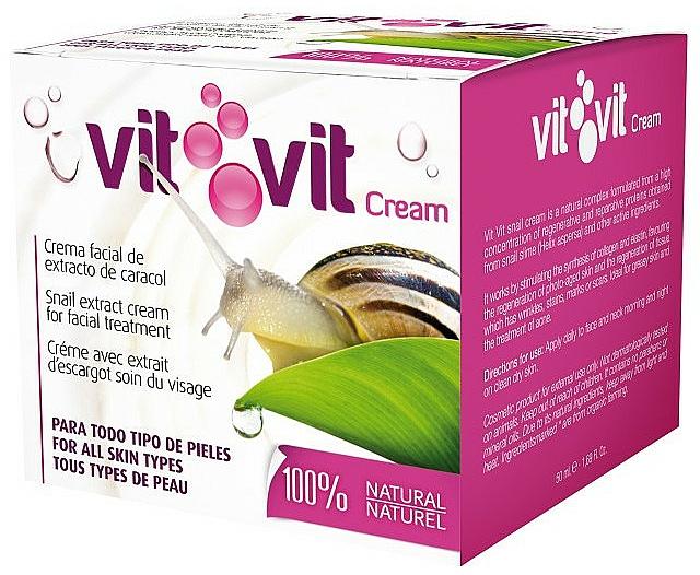 Crema facial con baba de caracol - Diet Esthetic Vit Vit Cream