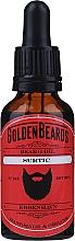 Perfumería y cosmética Aceite orgánico artesanal para barba con jojoba, albaricoque y lima - Golden Beards Beard Oil Surtic