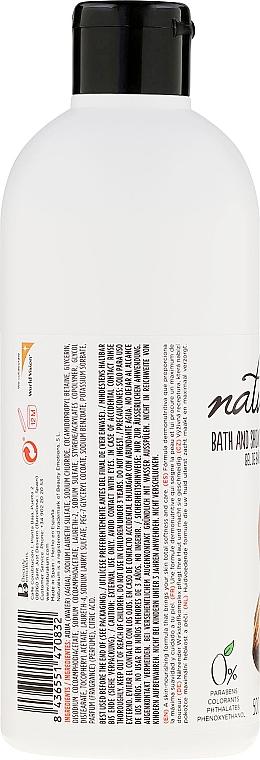 Gel de ducha y baño con mantéca de karité y macadamia, sin parabenos - Naturalium Shea & Macadamia Shower Gel — imagen N2