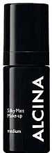 Perfumería y cosmética Base de maquillaje duradera, acabado semimate - Alcina Silky Matt Make-up