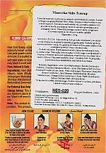 Mascarilla facial natural con aloe vera, polvo de sándalo, pétalos de rosa y cáscara de naranja - Hesh Skin-ToneUp Powder — imagen N3