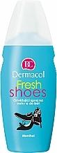 Perfumería y cosmética Spray refrescante para pies y calzado con mentol - Dermacol Fresh Shoes Spray