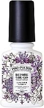 Perfumería y cosmética Spray ambientador de inodoro con aceite esencial de lavanda y vainilla - Poo-Pourri Before You Go Lavender Vanilla And Citrus