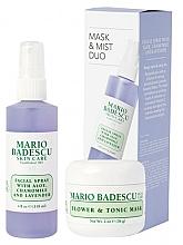 Perfumería y cosmética Set facial (mascarilla/56g+ spray/118ml) - Mario Badescu Lavender Mask & Mist Duo Set