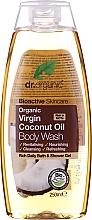 Perfumería y cosmética Gel de baño y ducha con aceite virgen de coco - Dr. Organic Bioactive Skincare Organic Coconut Virgin Oil Body Wash