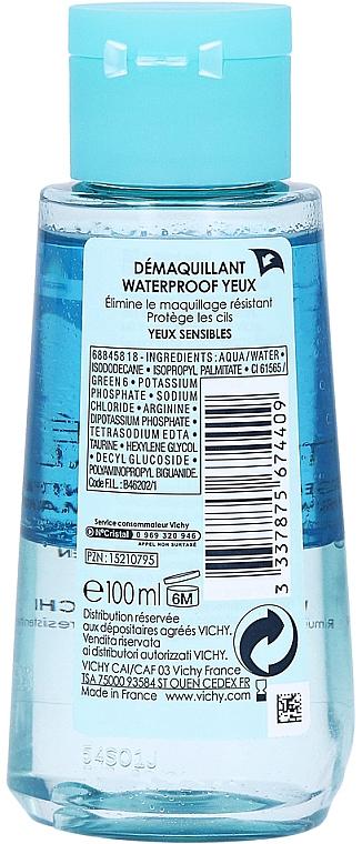 Desmaquillante hipoalergénico para pieles sensibles - Vichy Purete Thermale Struccante Waterproof Occhi Sensibili — imagen N3