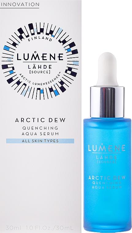 Sérum facial con ácido hialurónico y aceite de ricino - Lumene Artic Dew Serum — imagen N1