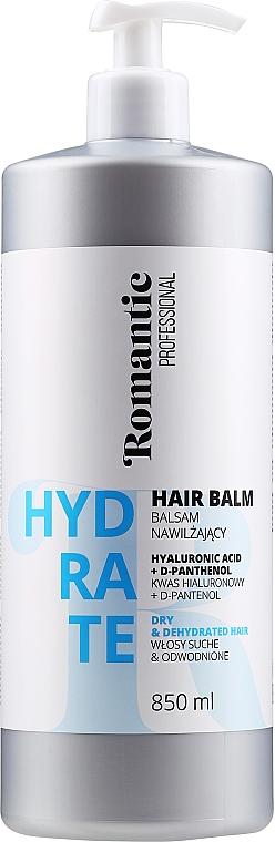 Acondicionador con ácido hialurónico y D-pantenol - Romantic Professional Hydrate Hair Balm