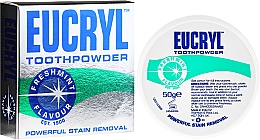 Perfumería y cosmética Polvo dental - Eucryl Toothpowder Freshmint