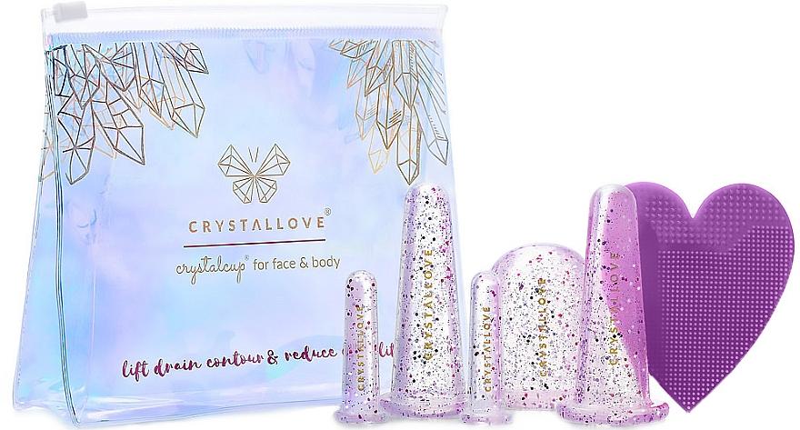 Herramientas de silicona para masaje de rostro y cuerpo - Crystallove Crystalcup For Face & Body