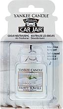 Perfumería y cosmética Ambientador de coche - Yankee Candle Car Jar Ultimate Fluffy Towels