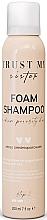 Perfumería y cosmética Champú espuma para cabello de porosidad media con extracto de algas - Trust My Sister Medium Porosity Hair Foam Shampoo