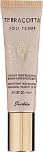Perfumería y cosmética Base de maquillaje antifatiga, SPF 20 - Guerlain Terracotta Joli Teint SPF20