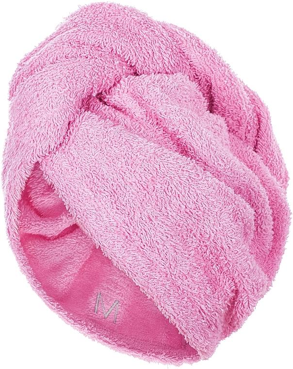 Toalla turbante, rosa - MakeUp