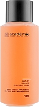 Perfumería y cosmética Loción limpiadora con agua de rosas y complejo de azufre coloidal - Academie Lotion Juvanyl
