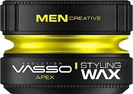 Perfumería y cosmética Cera para cabello de fijación muy fuerte con aroma a bergamota y geranio - Vasso Professional Hair Styling Wax Apex
