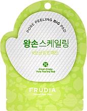 Perfumería y cosmética Disco exfoliante facial hipoalergénico con extracto de uva verde - Frudia Pore Peeling Big Pad Green Grape