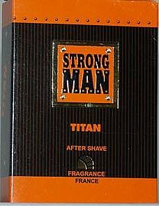Loción aftershave - Strong Men After Shave Titan