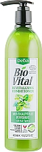 Perfumería y cosmética Acondicionador revitalizante con extracto de eucalipto y menta - DeBa Bio Vital Revitalizing Conditioner