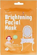 Perfumería y cosmética Mascarilla iluminadora facial de tejido con extracto floral - Cettua Brightening Facial Mask