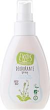 Perfumería y cosmética Desodorante spray natural con aceite de menta y tomillo, bio - Ekos Personal Care