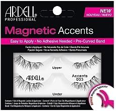 Perfumería y cosmética Pestañas postizas magnéticasde esquina con aplicador - Ardell Magnetic Lashes Accent 003