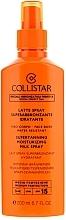 Leche solar bronceadora para rostro y cuerpo resistente al agua SPF15 - Collistar Supertanning Moisturing Milk Spray SPF 15 — imagen N2