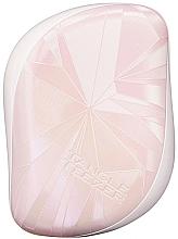 Perfumería y cosmética Cepillo desenredante - Tangle Teezer Compact Styler Smashed Holo Pink