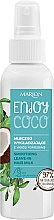 Perfumería y cosmética Leche capilar sin aclarado con agua de coco y extracto de flor de cactus - Marion Enjoy Coco Smoothing Leave In Hair Milk