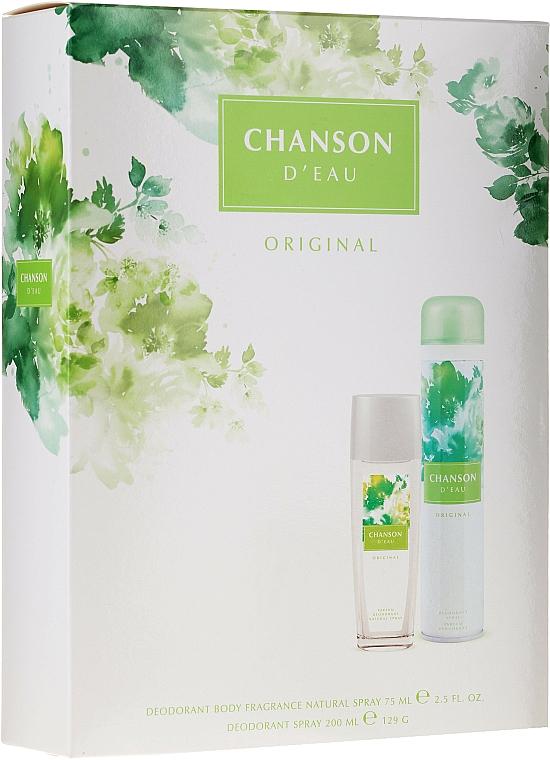 Chanson D'Eau Original - Set (desodorante spray/75ml + desodorante/200ml)