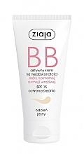Perfumería y cosmética Crema BB para rostro con ácido hialurónico tono claro SPF 15 - Ziaja BB-Cream Jasny